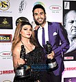 Rakhi Sawant and Sandip Soparrkar grace Dadasaheb Phalke Film Foundation Awards 2019-05.jpg