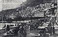 Rallye Monte Carlo 1934, attente des concurrents à Monaco, pour l'accès au parc fermé du quai Albert 1er.jpg