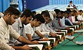 Ramadan 1439 AH, Qur'an reading at Imamzadeh Seyyed Mozaffar Mosque, Bandar Abbas - 24 May 2018 15.jpg