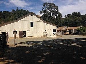 Rancho San Antonio County Park - Deer Hollow Farm barn