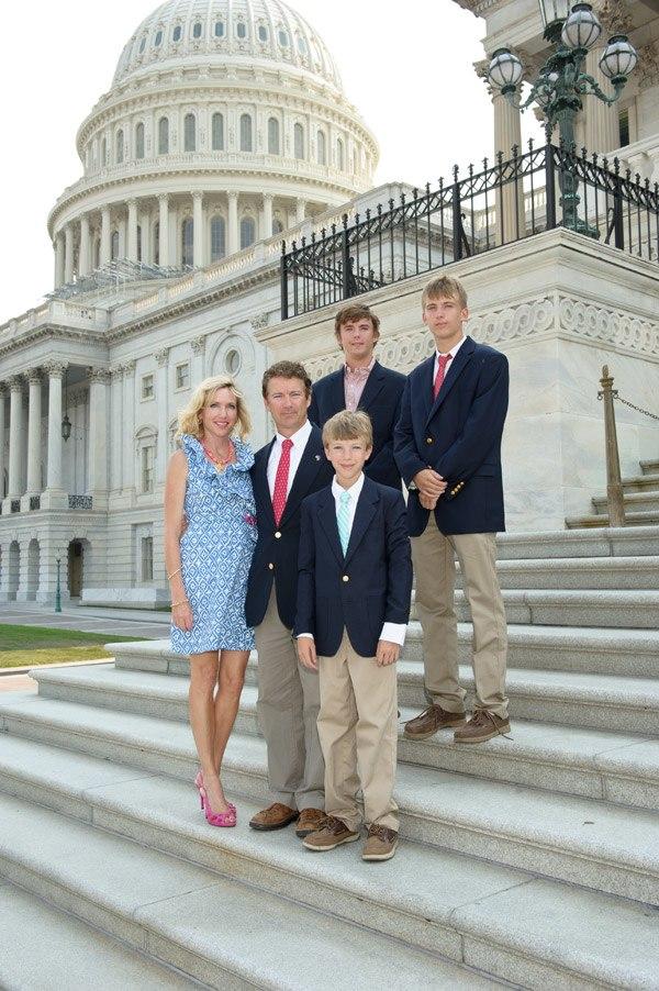 Rand Paul family photo