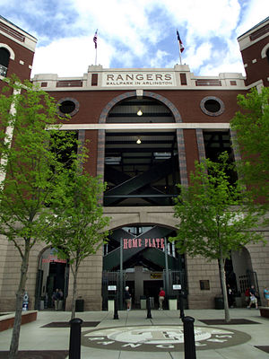 Rangers Ball Park in Arlington Home Plate.jpg