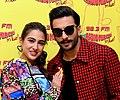Ranveer Singh and Sara Ali Khan promote 'Simmba' at 98.3 FM Radio Mirchi.jpg