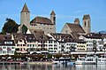 Rapperswil - Schloss - Stadtpfarrkirche - Seequai-Hafen - Seedamm 2012-10-05 15-30-15.JPG