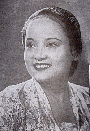 Andjar Asmara - Andjar's wife, Ratna, was the first female film director in Indonesian history.