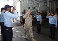 Rear Adm. Kevin M. Quinn embarks aboard USS Iwo Jima 090210-N-EX381-004.jpg