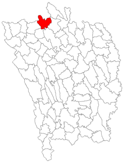 Location of Rebricea