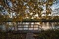 Red River State Recreation Area - Autumn Fishing Platform (37745675811).jpg