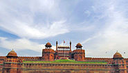 Red fort, Lahore Gate, Distant View
