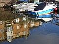 Reflective Scene, Portway Marina - geograph.org.uk - 1585766.jpg