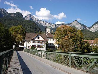 Reichenau, Switzerland - Reichenau castle