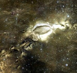 Reiner Gamma - UV-VIS false color albedo image of the Reiner Gamma albedo feature.