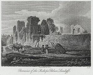 Remains of the Bishop's palace, Landaff