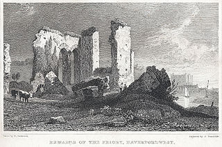 Remains of the Priory, Haverfordwest, Pembrokeshire