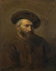 Half-figure of a Bearded Man with Beret