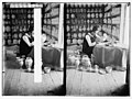 Revival of the famous faience work in Jerusalem. Decorating a vase. LOC matpc.05666.jpg