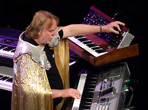 Rick Wakeman - Wakeman performing at the Teatro Bradesco in São Paulo, November 2012