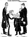 Rimsky-Korsakov, Nápravník, Cui and Glazunov by Paul Robert.jpg