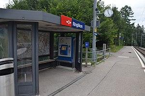 Ringlikon railway station - Image: Ringlikon train station 2015 1