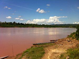 Puerto Inca Province - Pachitea River near Nueva Honoria, Honoria District
