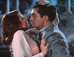 Rita Hayworth i Tyrone Power w scenie z filmu