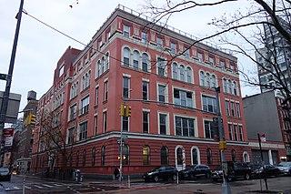 Rivington House Building in Manhattan, New York