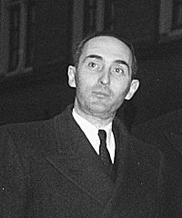 Robert Als, Benelux conference The Hague March 1949, Luxembourg Delegation.jpg