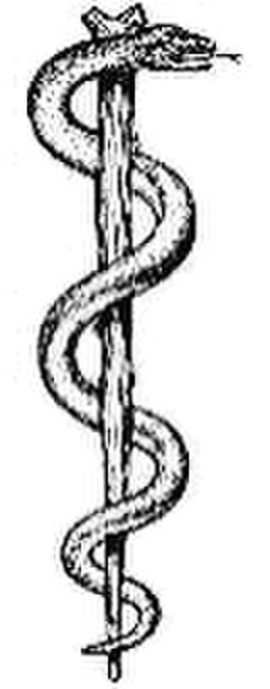 Maad Saloum - Image: Rod of asclepius