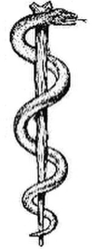 Maad Saloum - Image: Rod of asclepius
