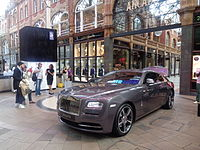 Rolls-Royce Wraith, Victoria Quarter, Leeds (11th August 2015) 002.JPG