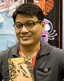 Ronnie Del Carmen at San Diego Comic-Con 2009