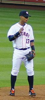 Ronny Cedeño Venezuelan baseball player
