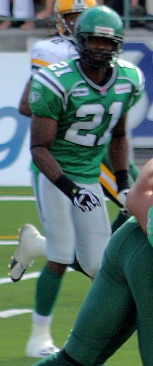 Rontarius Robinson - Robinson with the Saskatchewan Roughriders in 2007