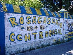 Graffiti en rosarigasino.