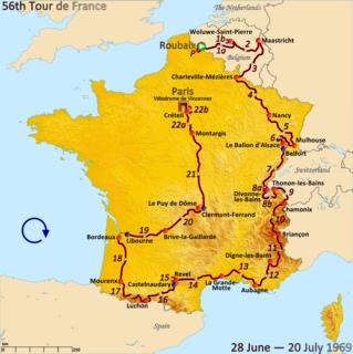 1969 Tour de France cycling race