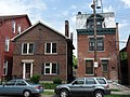 Rowhouse and what looks like a newer infill house (4762470825).jpg
