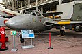 Royal Museum of the Armed Forces and Military History De Havilland Vampire (11448840946).jpg