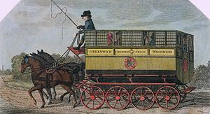 Rudolph Ackermann - The Royal Sailor Omnibus, designed by Ackermann (J. Stadler, 1791)