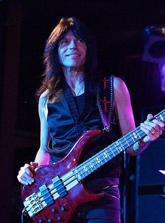 Devil City Angels - bassist Rudy Sarzo.