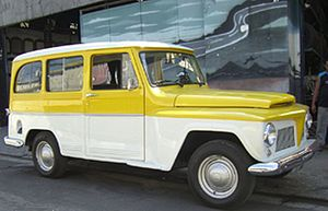 Willys Jeep Station Wagon - Willy's and later the Ford Rural