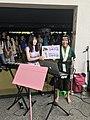 Ruru Lin, Kathie Huang and visitors at FF34 20190727c.jpg
