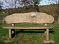 Rustic style seat at Trimpley Reservoir - geograph.org.uk - 1577160.jpg