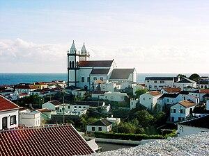 São Mateus da Calheta - The parochial church is at the centre of the old fishing community of São Mateus