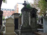 Sépulture de Jules LEFEBVRE - Cimetière de Montmartre.JPG