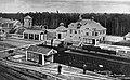 Södertälje Södra Hamn station översikt med plattformarna 1921.jpg