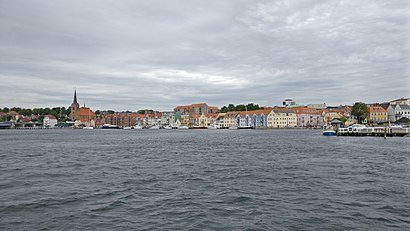 How to get to Sønderborg with public transit - About the place
