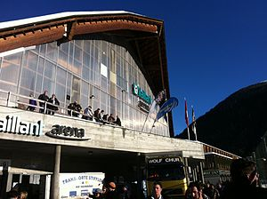 Vaillant Arena - Image: Südtribüne.vailant.a rena.davos.outside