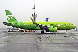 S7 Airlines, VQ-BCK, Airbus A320-271N (38549848226).jpg