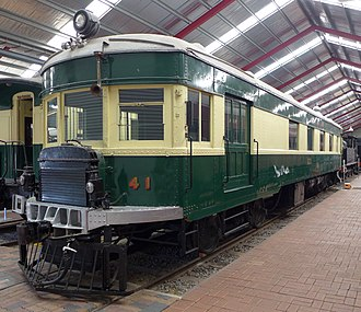 South Australian Railways Brill railcar - Preserved 41 at the National Railway Museum, Port Adelaide, 2014