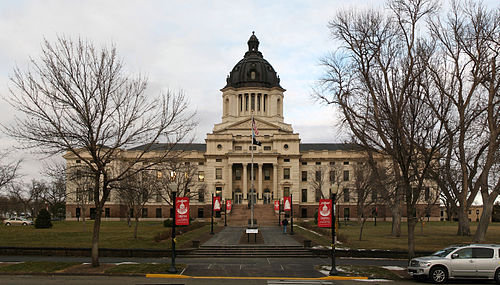 The South Dakota State Capitol in Pierre SD Capitol.jpg